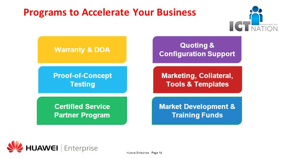 Programs to Accelerate Your Business