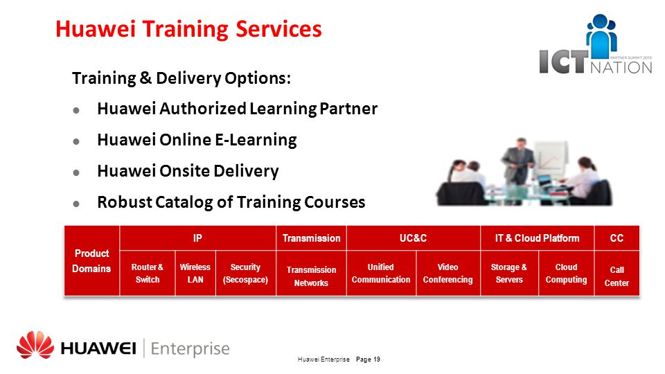 Huawei Training Services
