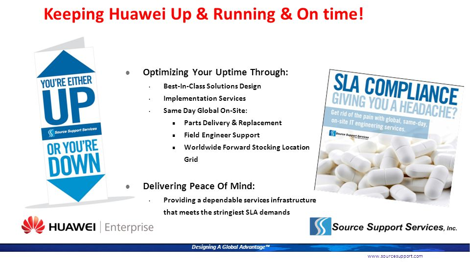 Keeping Huawei Up & Running & On time!