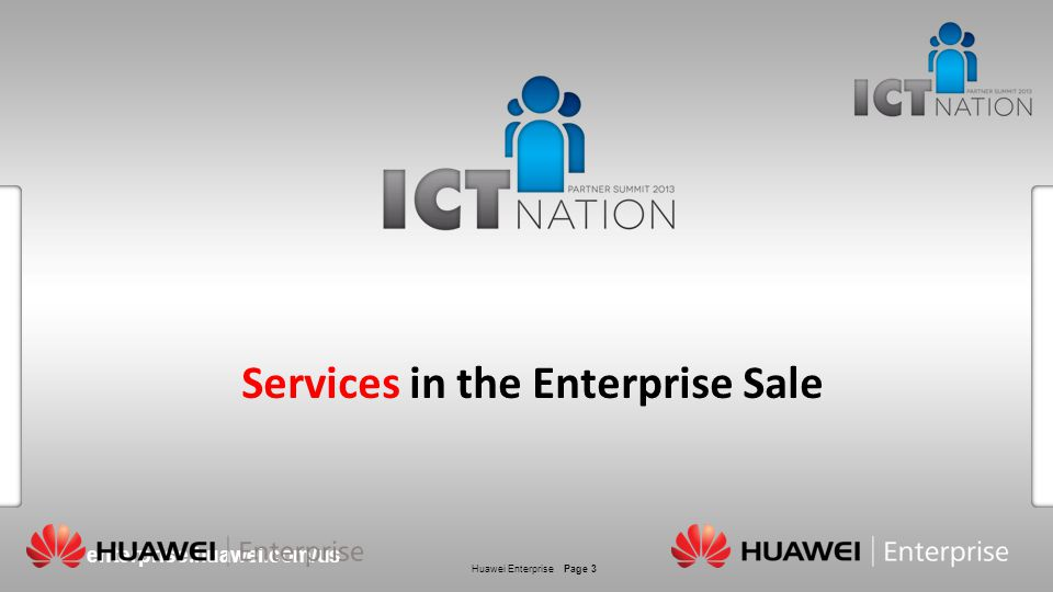Services in the Enterprise Sale