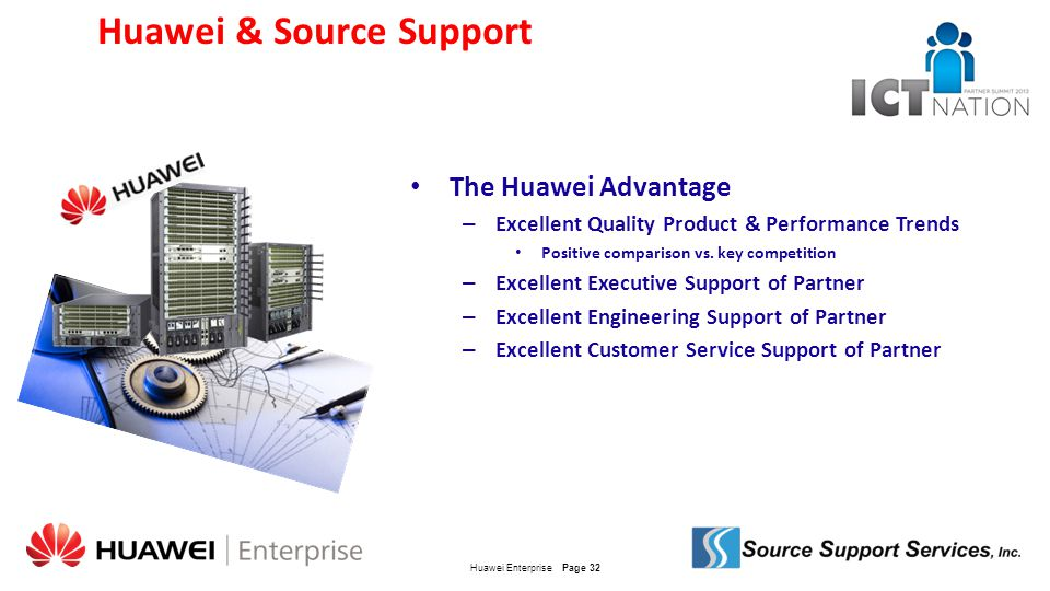 Huawei & Source Support