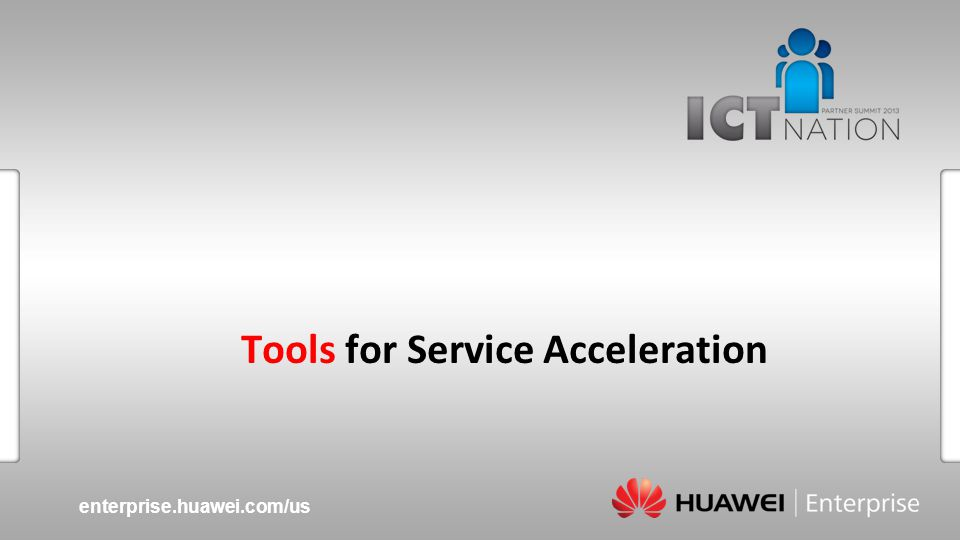 Tools for Service Acceleration