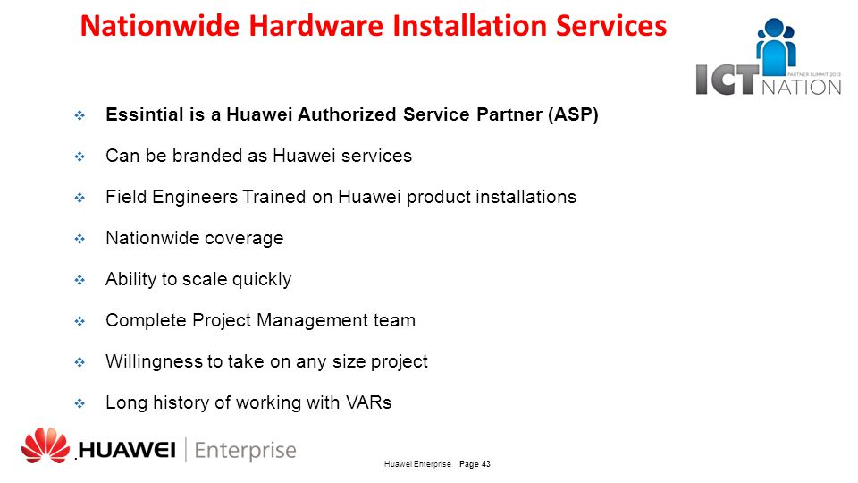 Nationwide Hardware Installation Services