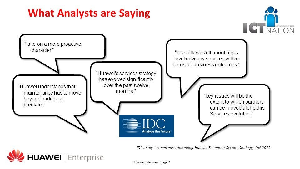 What Analysts are Saying