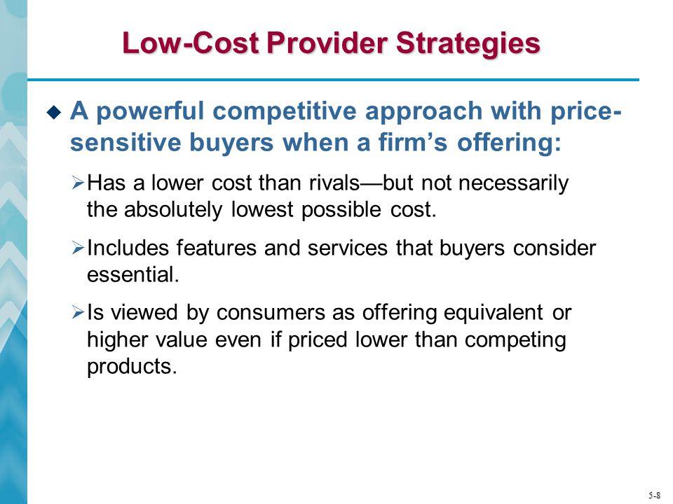 Low-Cost Provider Strategies