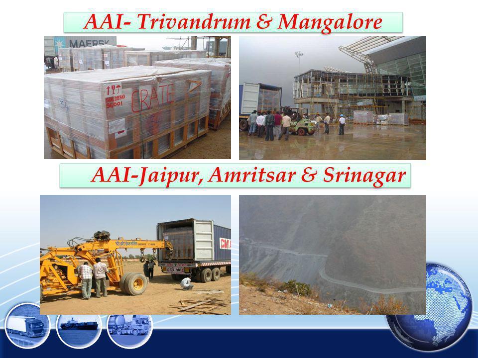 AAI- Trivandrum & Mangalore