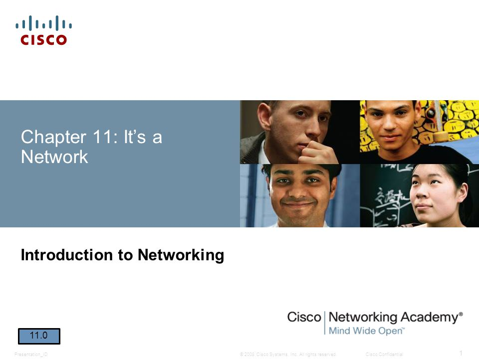 Chapter 11: It's a Network