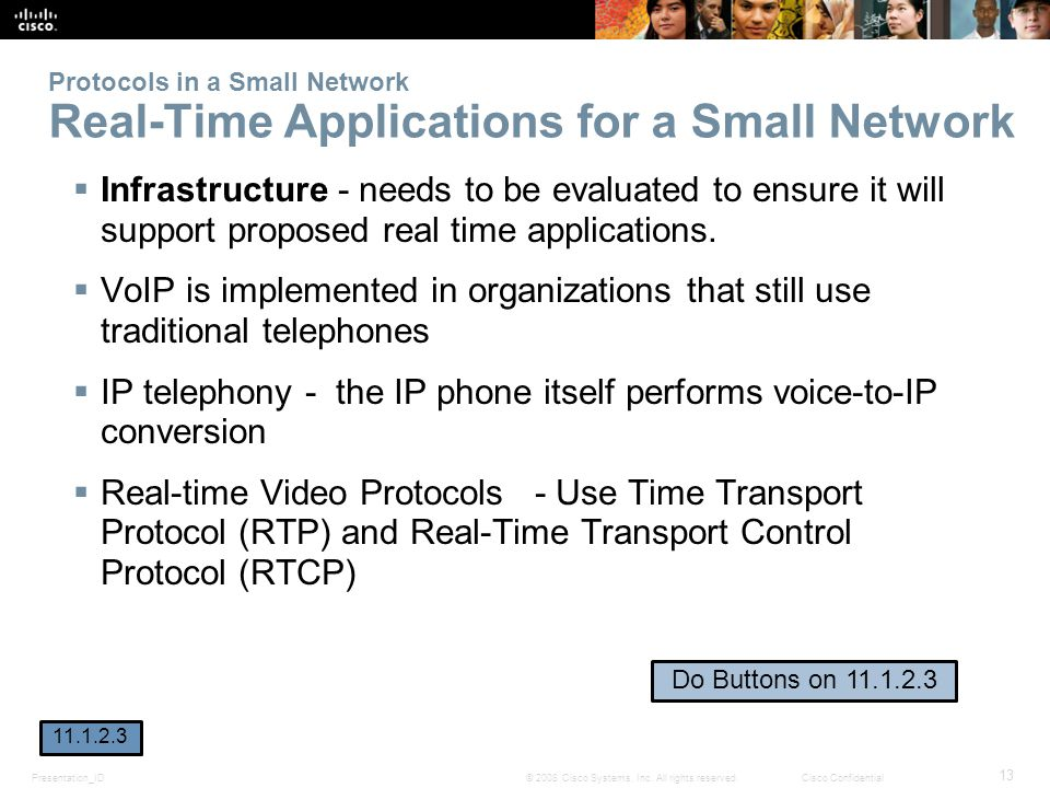 IP telephony - the IP phone itself performs voice-to-IP conversion