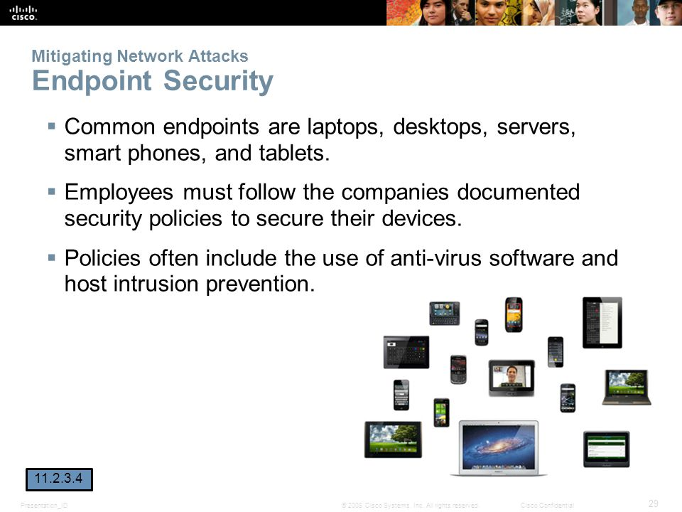 Mitigating Network Attacks Endpoint Security