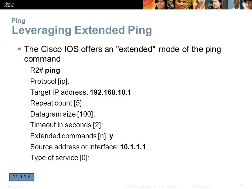 Ping Leveraging Extended Ping