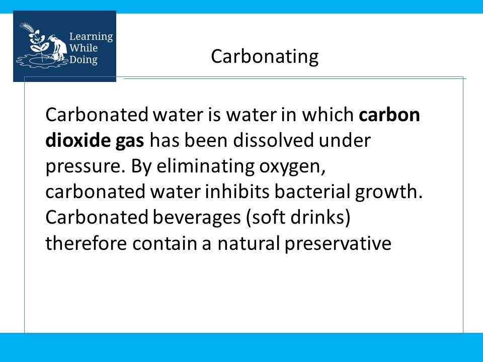 Carbonating