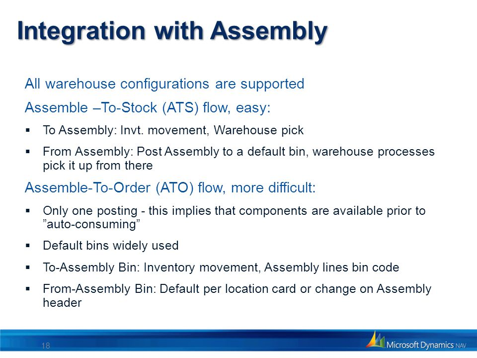 Integration with Assembly