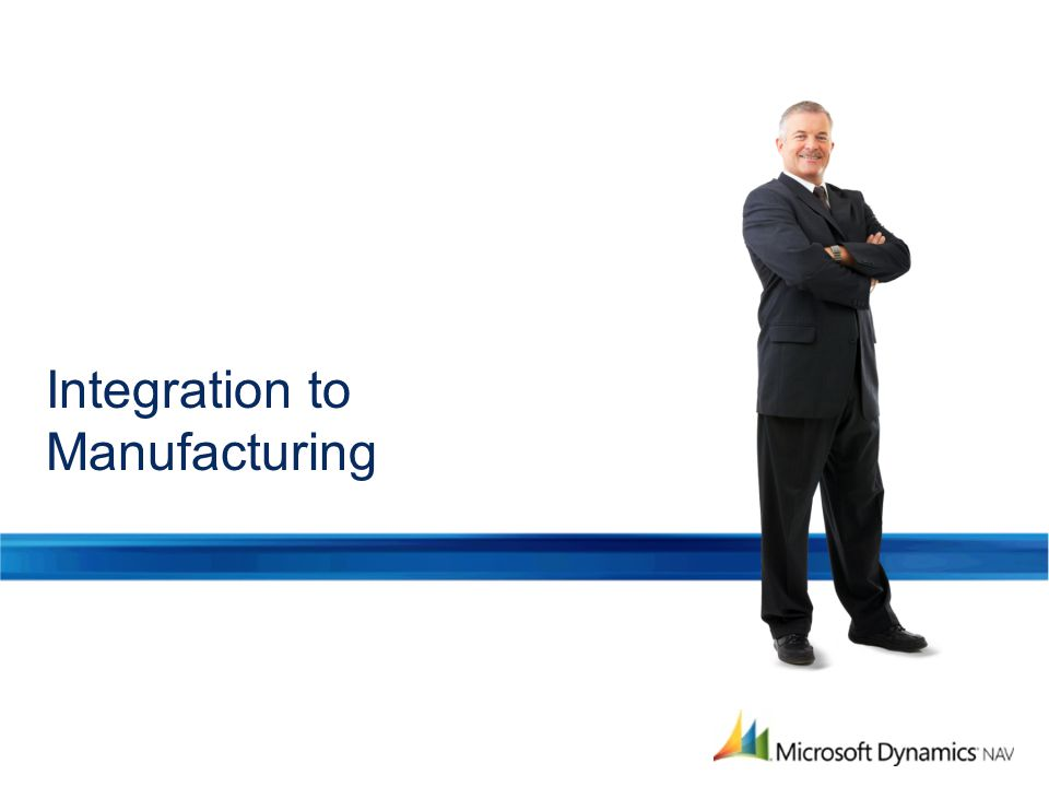 Integration to Manufacturing