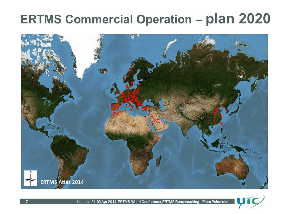 ERTMS Commercial Operation – plan 2020