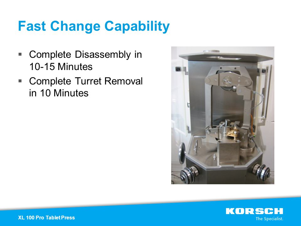 Fast Change Capability