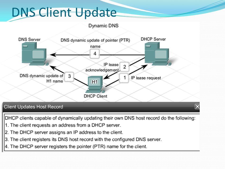 DNS Client Update