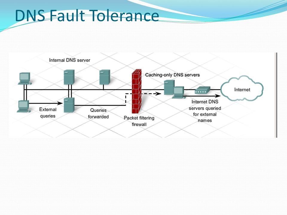 DNS Fault Tolerance