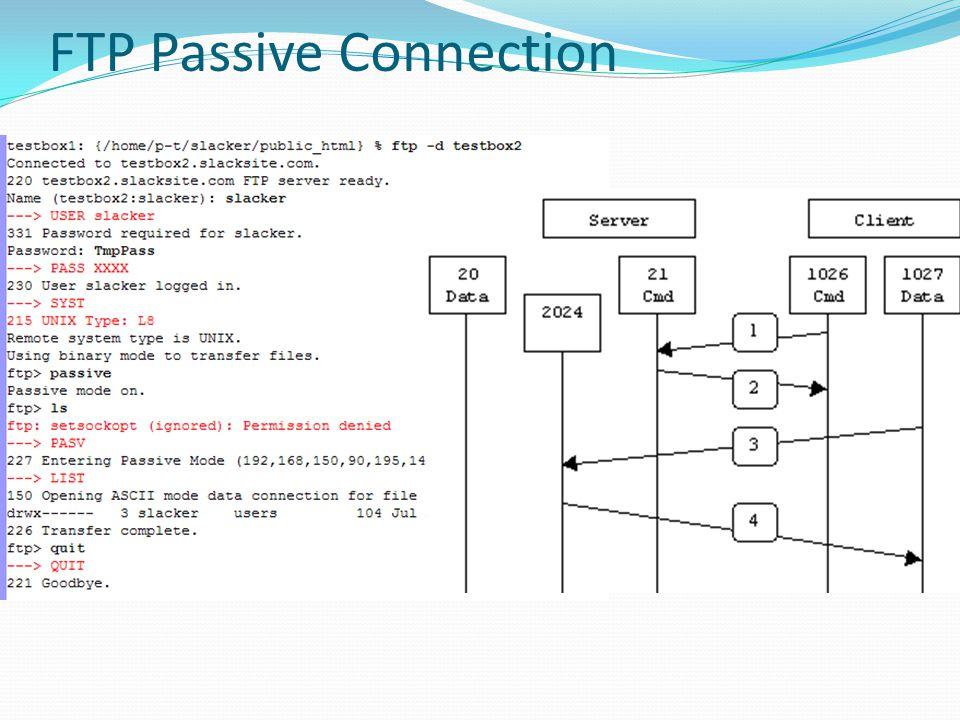 FTP Passive Connection