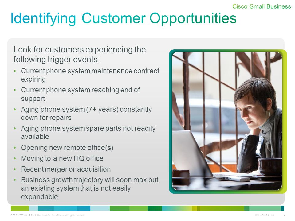 Identifying Customer Opportunities