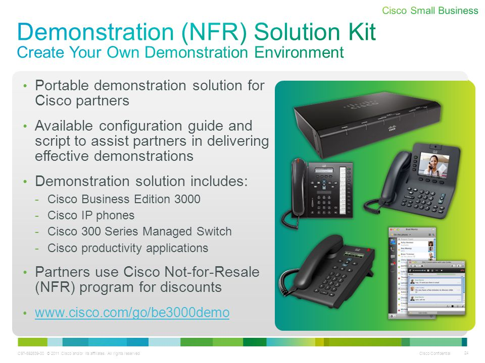 Demonstration (NFR) Solution Kit Create Your Own Demonstration Environment