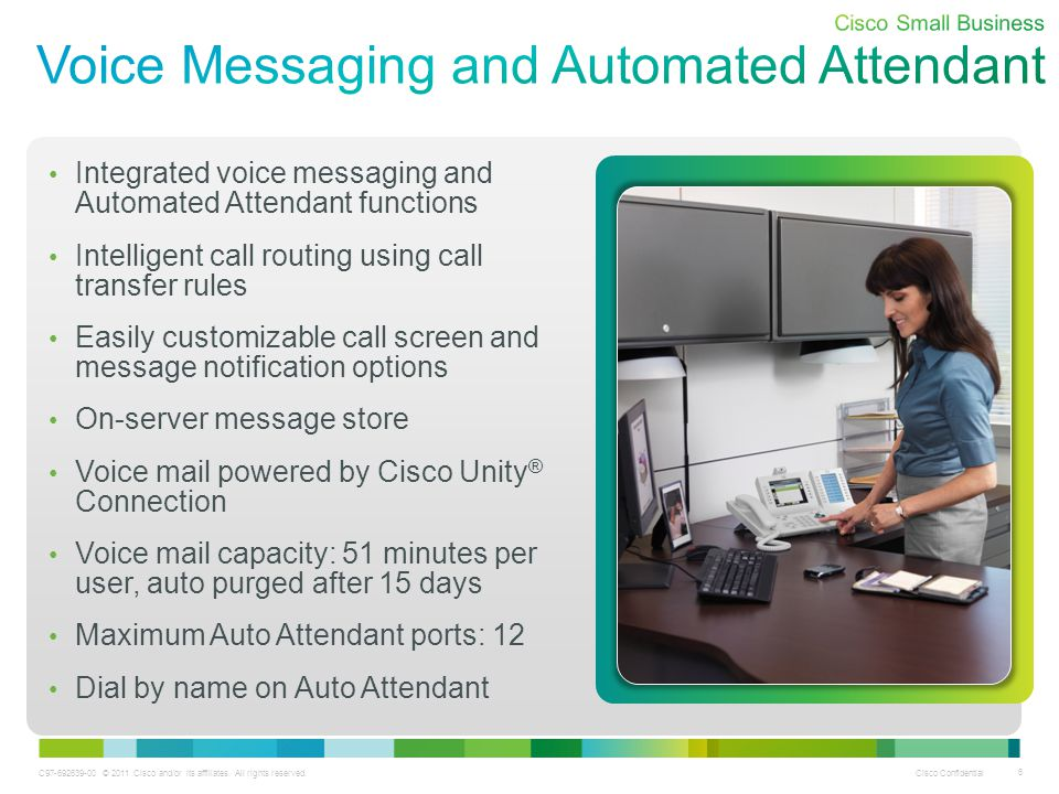 Voice Messaging and Automated Attendant