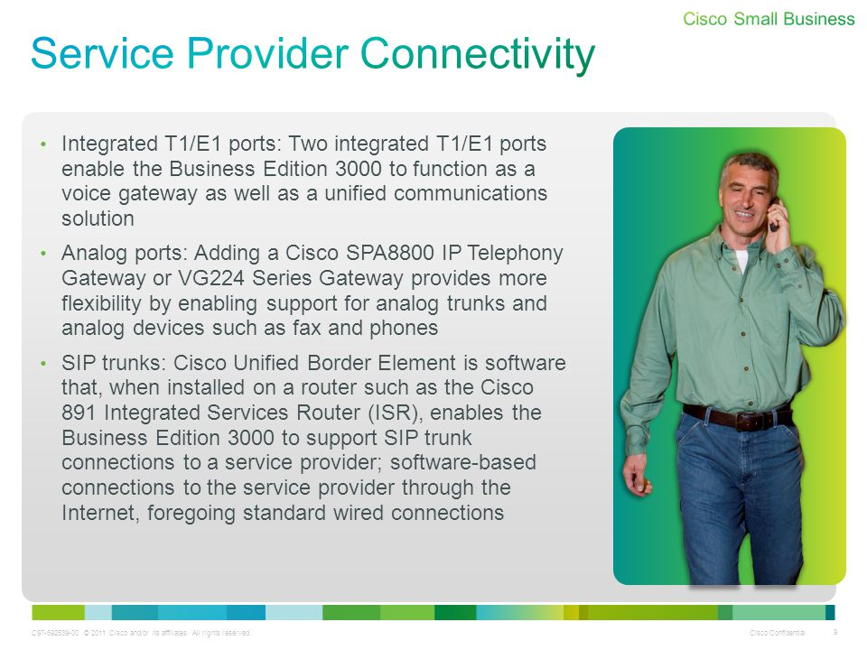 Service Provider Connectivity