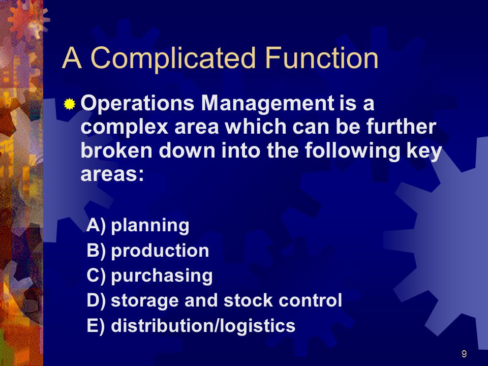A Complicated Function