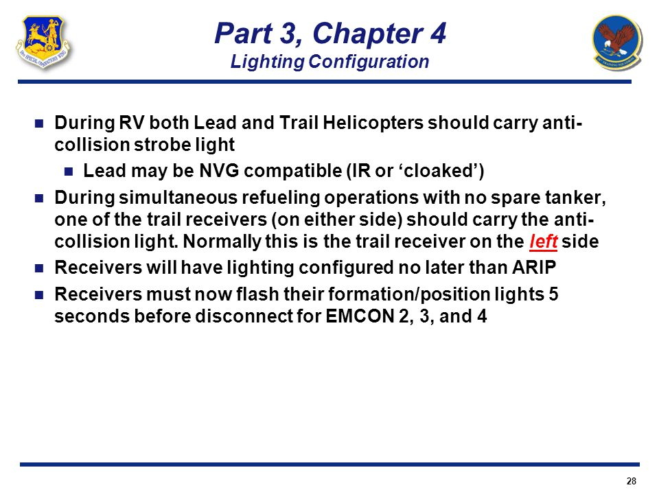 Part 3, Chapter 4 Lighting Configuration