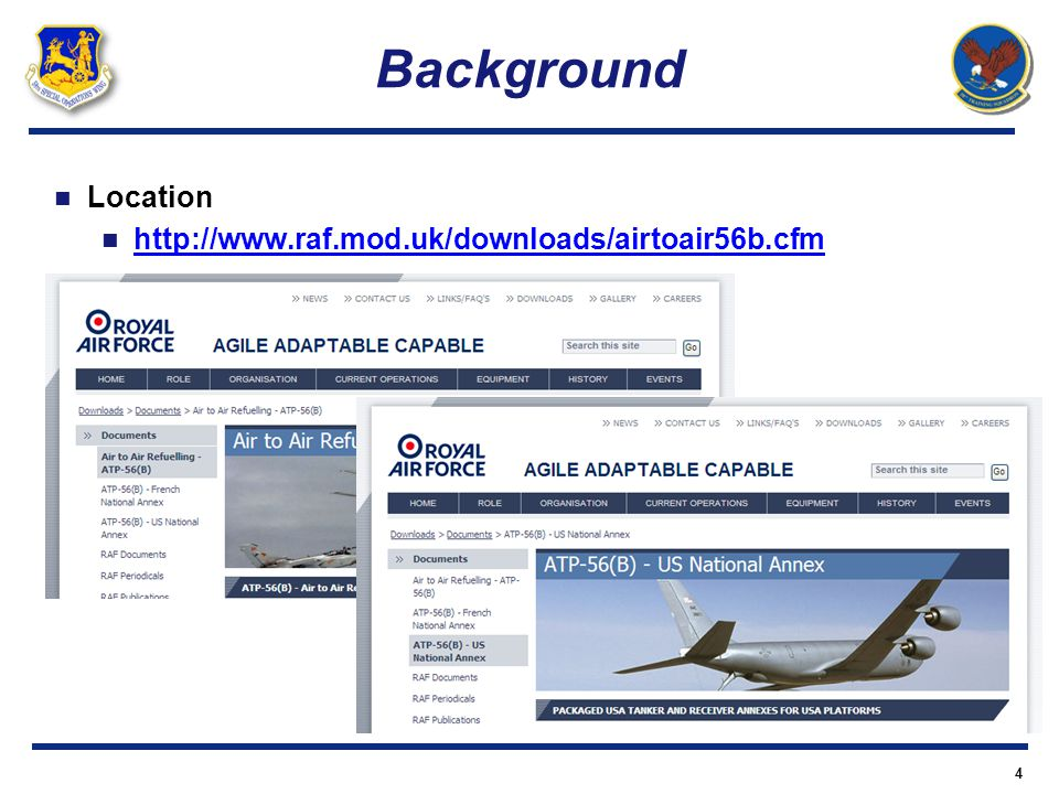 Background Location http://www.raf.mod.uk/downloads/airtoair56b.cfm