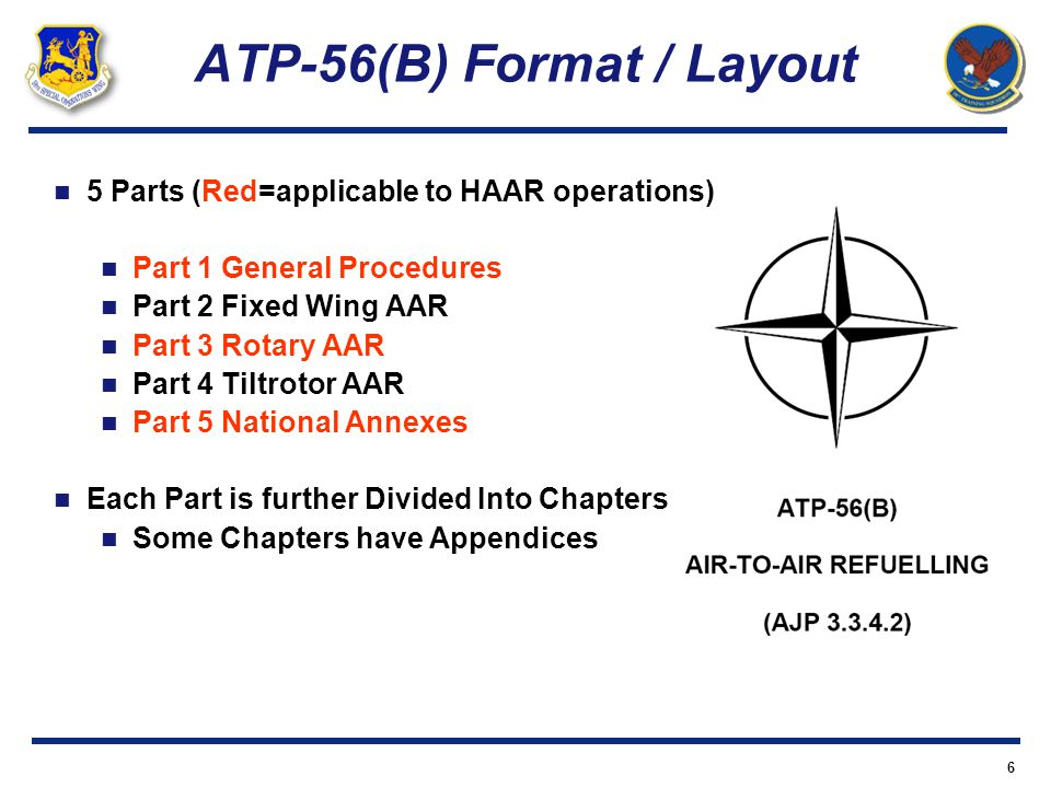 ATP-56(B) Format / Layout