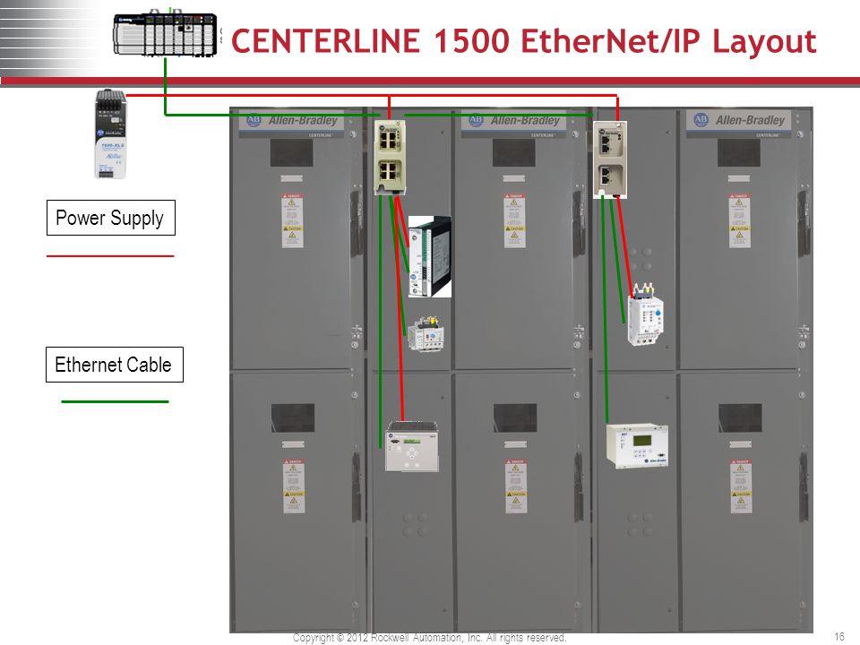 CENTERLINE 1500 EtherNet/IP Layout