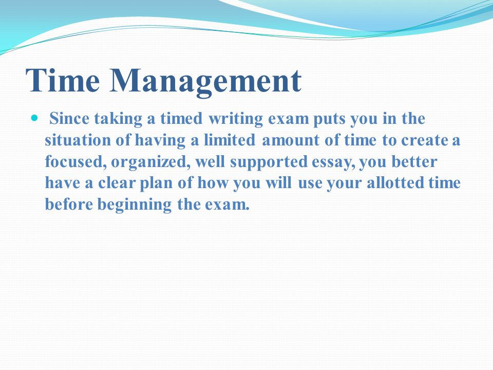 presented to you by the writing support lab p ppt time management