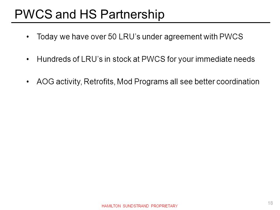PWCS and HS Partnership