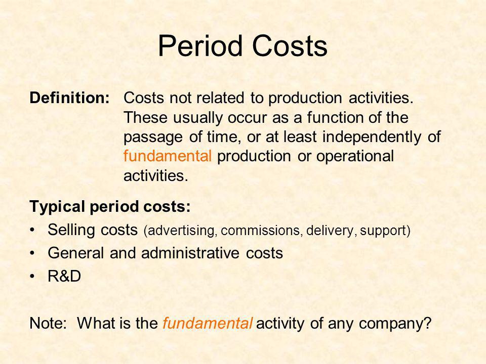 Period Costs