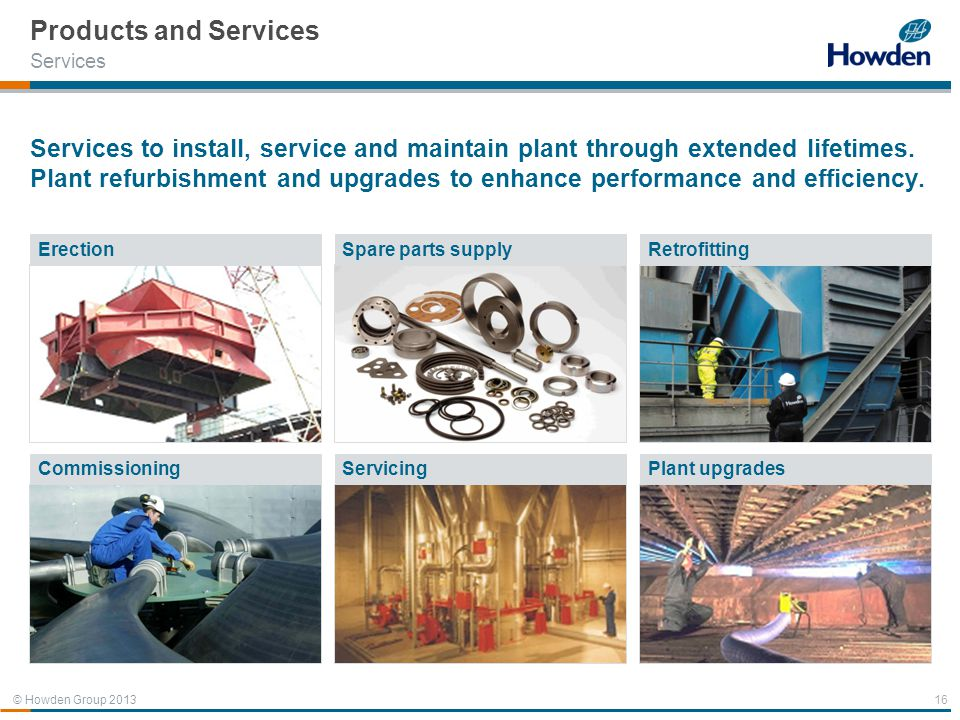 Products and Services Services.