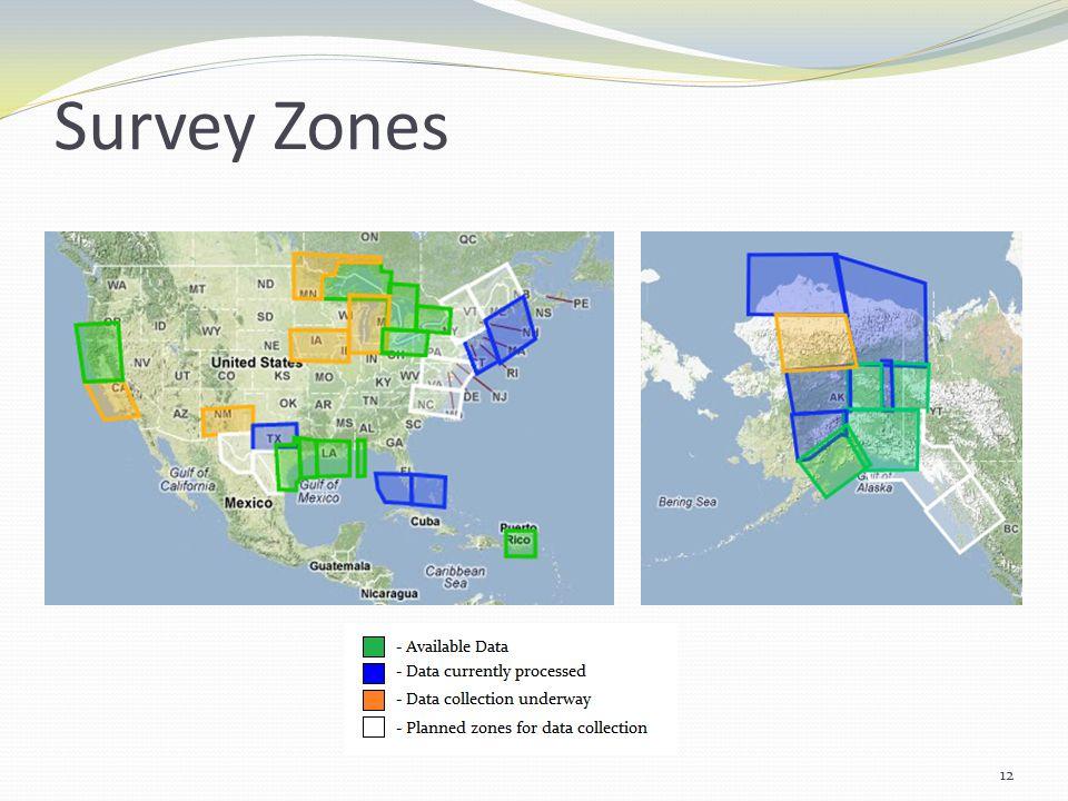 Survey Zones