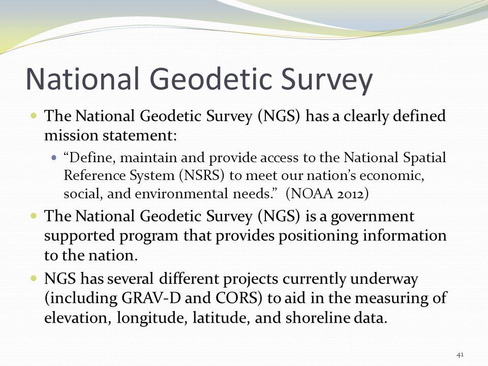 National Geodetic Survey