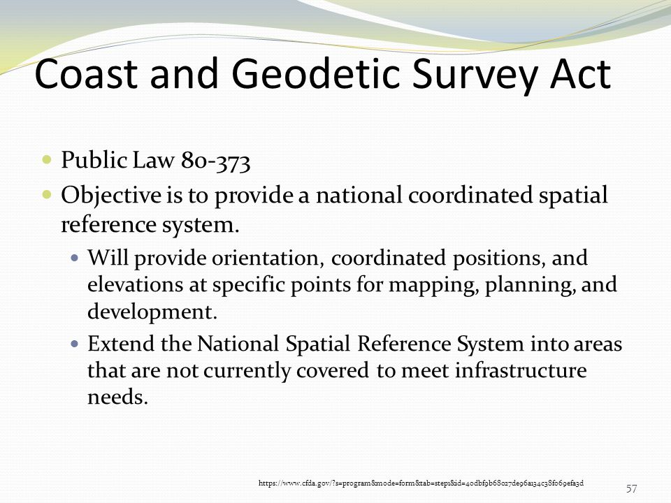 Coast and Geodetic Survey Act