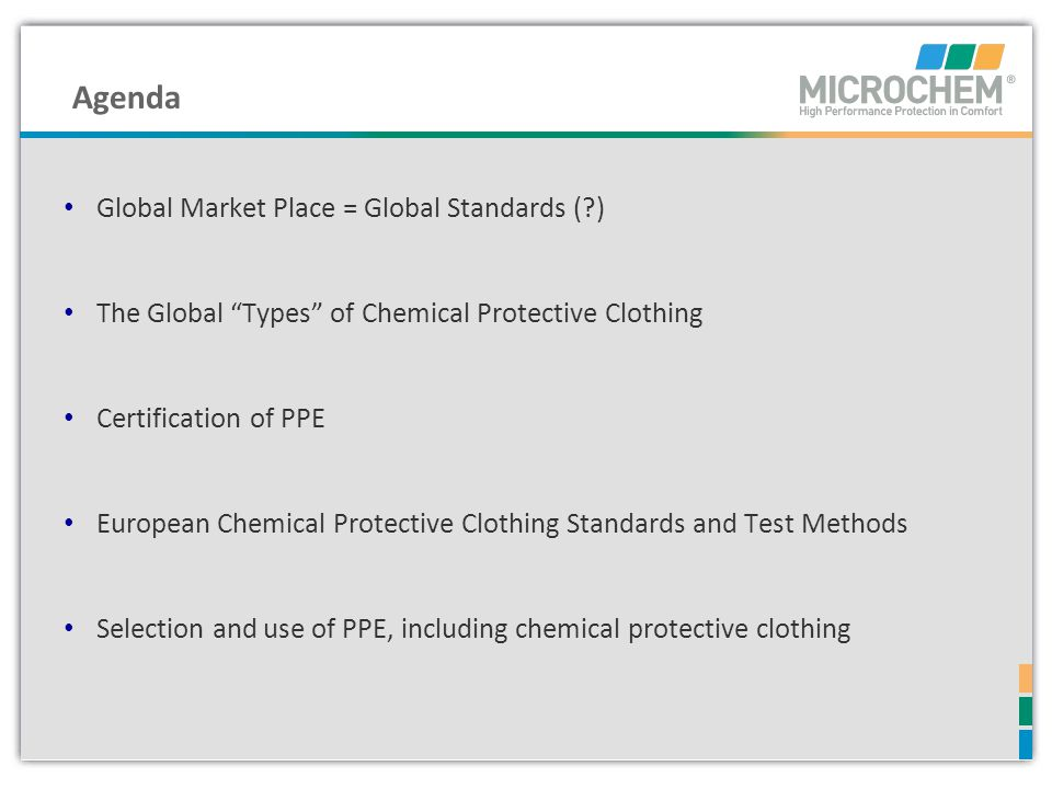 Agenda Global Market Place = Global Standards ( )