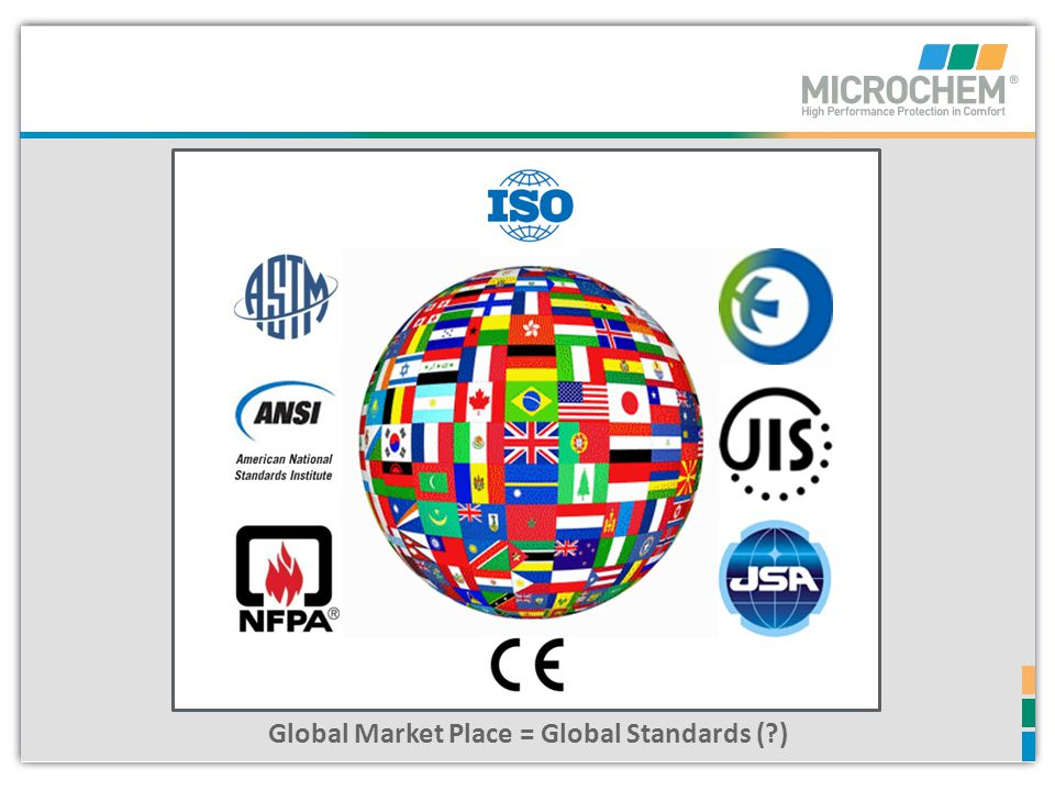 Global Market Place = Global Standards ( )