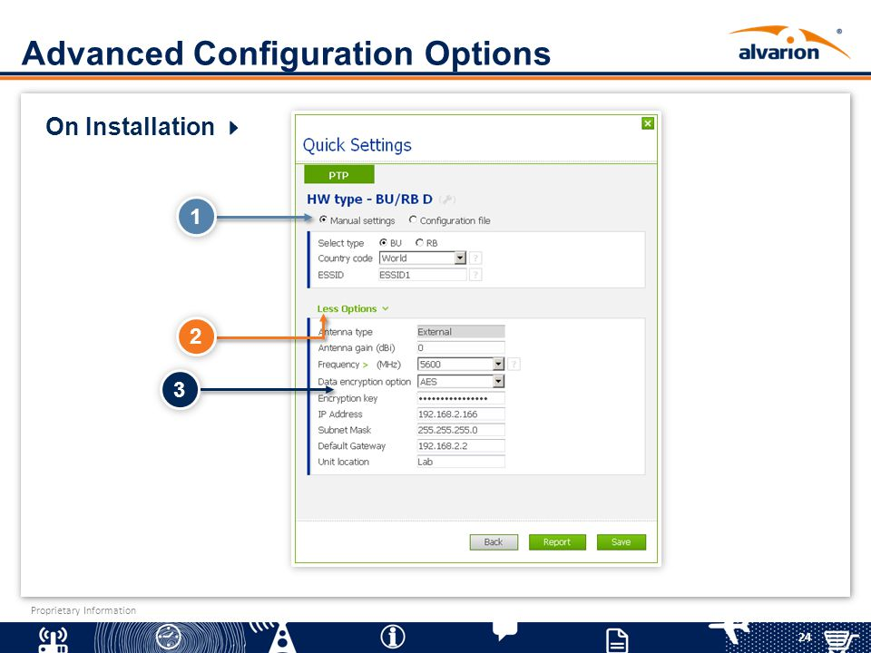 Advanced Configuration Options
