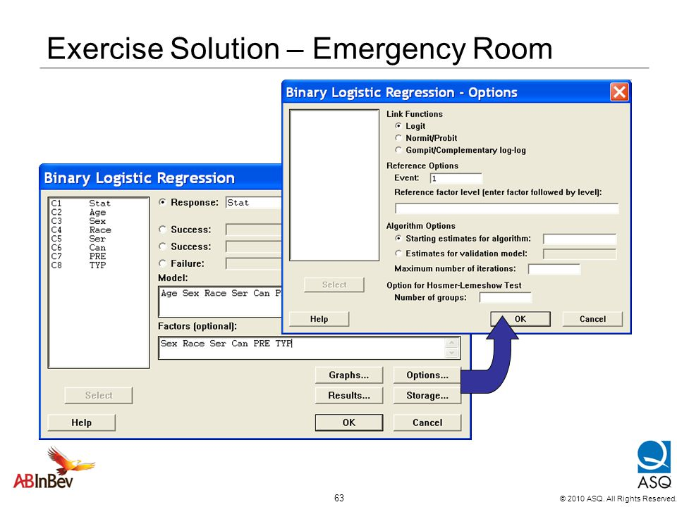 Exercise Solution – Emergency Room