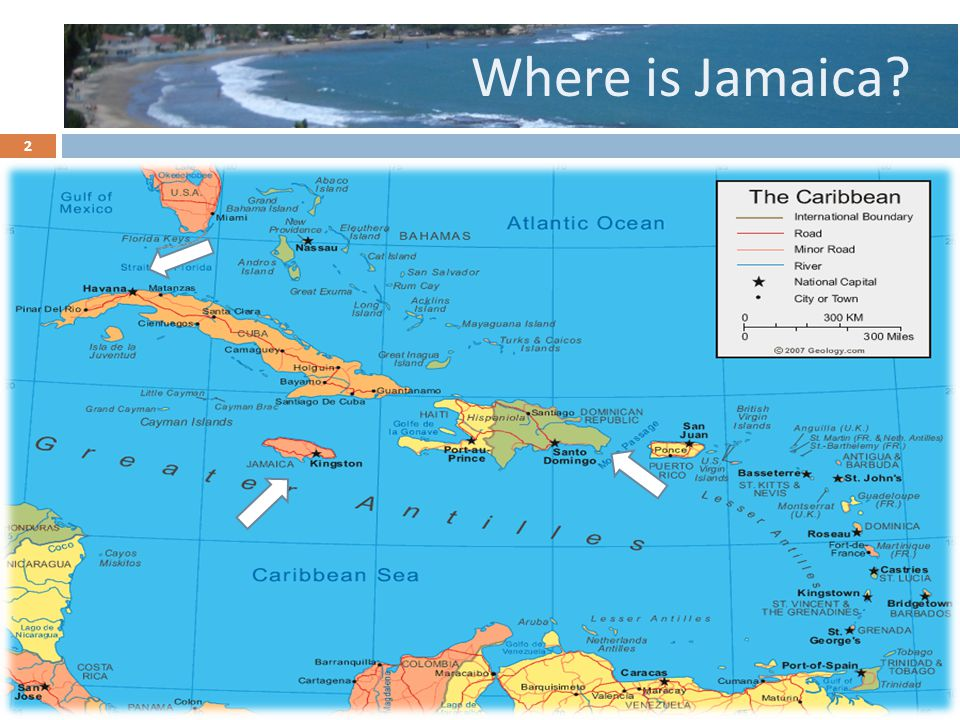 Where is Jamaica