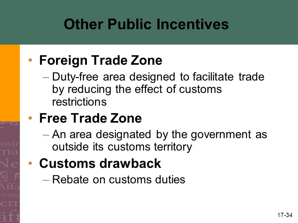Other Public Incentives