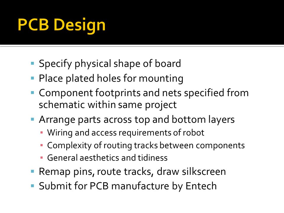 PCB Design Specify physical shape of board