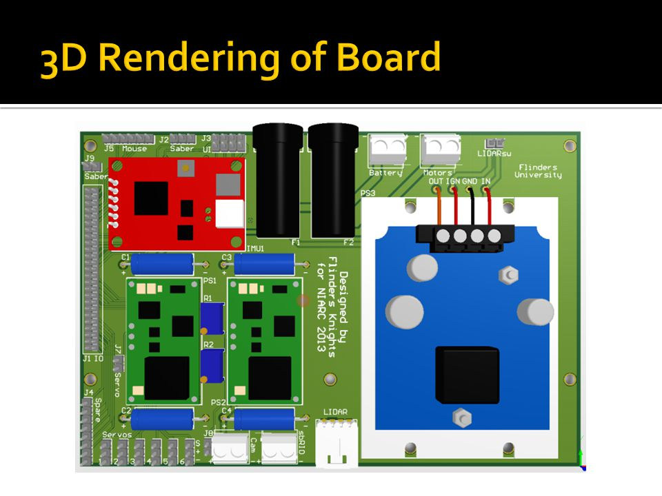 3D Rendering of Board