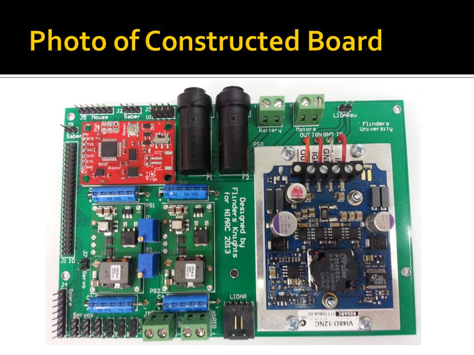 Photo of Constructed Board