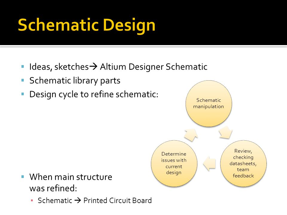 Schematic Design Ideas, sketches Altium Designer Schematic