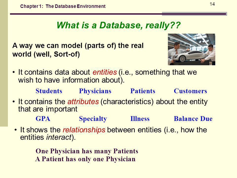 What is a Database, really
