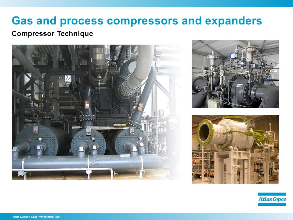 Gas and process compressors and expanders